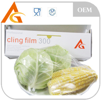 manufacture pe cling film roll with slide cutter
