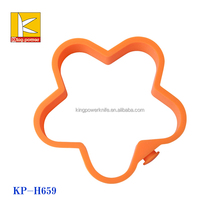 2015 hot sale items flower silicone baking moulds, orange silicone cake mould