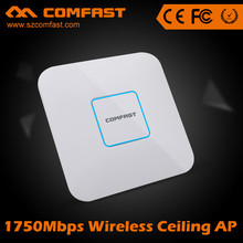 Best Wif Enterprise COMFAST CF-E380AC 1750mbps Long Range Dual band Indoor Wireless 1000mw Ceiling ap OEM with poe 802.11ac