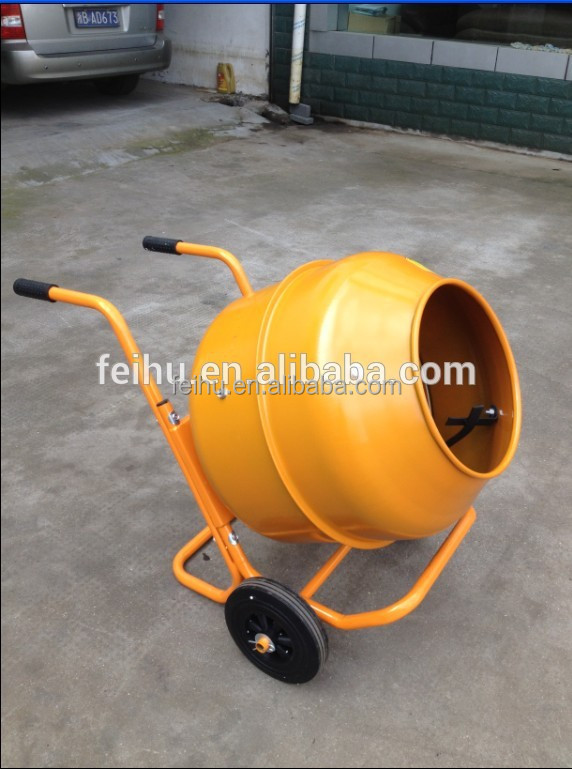 Used Small Cement Mixers : L portable mini concrete mixer buy used