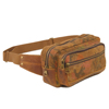 Custom Camouflage Heavy Duty Washed Canvas Cotton Military Chest Bag for Men