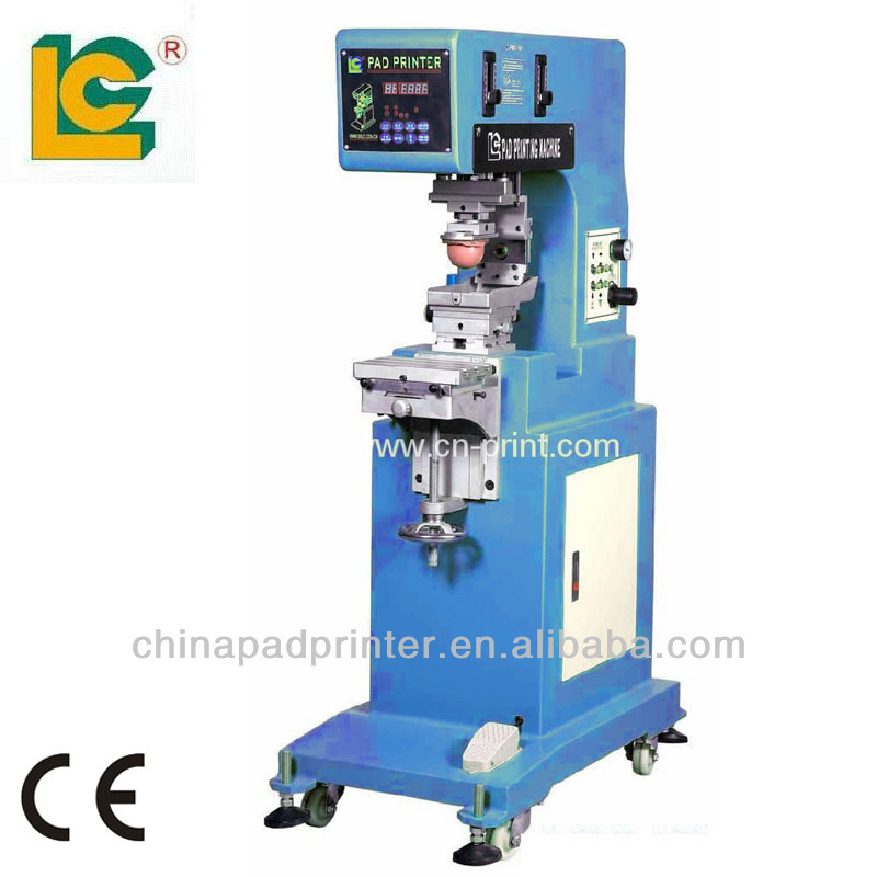Single Color open ink tray tampo printing machine LC-PM1-200