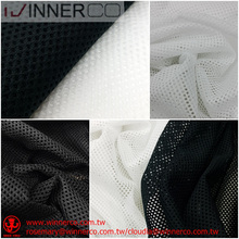 Cloth bag fabric lining knitted mesh fabric for sportswear
