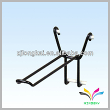 Dry chemical powder metal black fire extinguisher display stand