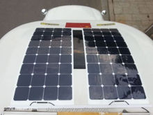 Sun power Solar Panle for Boats 120w Flexible Solar panel