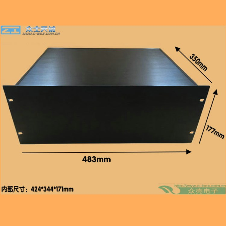 "4U/ 177x483x450mm 19"" standard server rack mount chassis for industrial computer, server case network rack enclosure box"