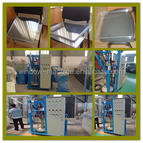 Two-component sealant coating machine Double glass Silicon coater machine