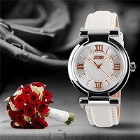 Genuine Leather Ladies Watches For Small Wrists