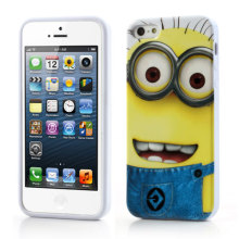 Funny Cartoon Minion Silicone Phone Case for iPhone 5 6 plus 7 7Plus
