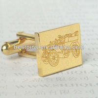 2013 Newest design enamel novelty cuff link