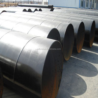16Mn ERW spiral steel pipe factory China Manufacturer