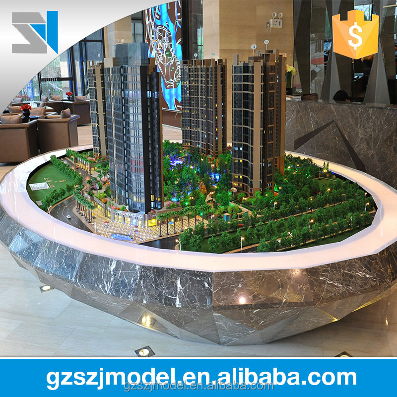 Good quality construction & real estate house model architectural models for sale