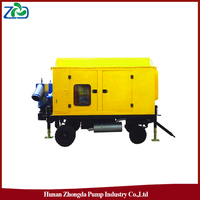 ZHONGDA ZYB Mobile Waterlogging Drainage Diesel Water Pump Truck for Irrigation