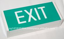 Singapore Indoor with EXIT Sign Fluorescent Emergency Light 2x8w