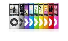 slim 4th gen mp4 32gb 9 Colors for choose fm radio video player