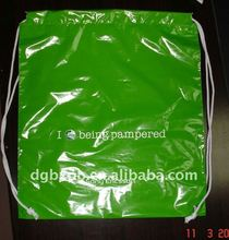 2012 CPE backpack bag (polybag plastic bag shopping bag)