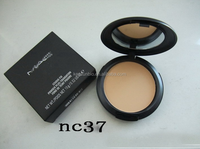 2015 Best Selling Wet Natural Face Powder Waterproof Makeup Face Pressed Powder with Mirror