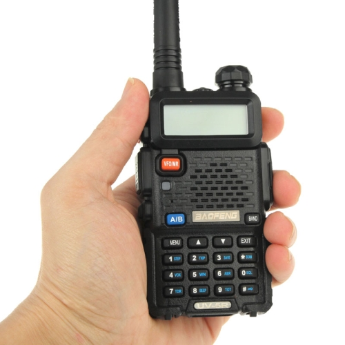 baofeng walkie talkie uv5r UV-5R 5W Dual band portable radio