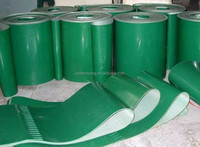 Food industry pvc fruit corrugated sidewall conveyor belt