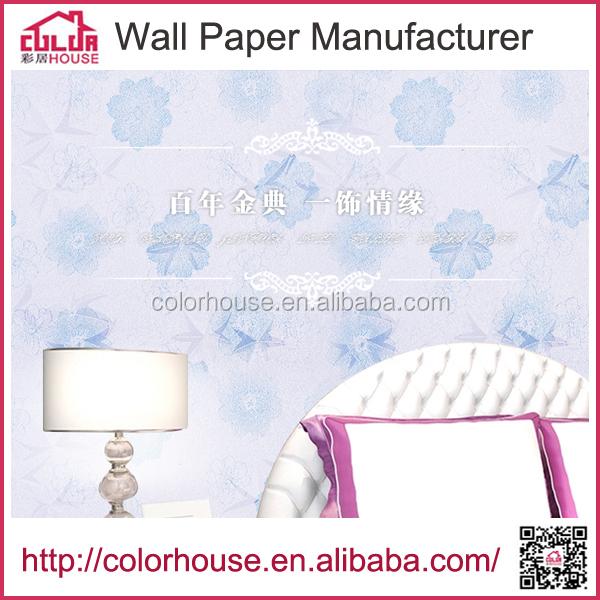 Home hotel 3d designer wallpaper washable vinyl wallpaper for 3d washable wallpaper