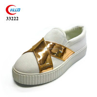 cheap promotion newest style women white wholesale shoe