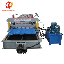 High Speed Non Stop Cutting Metal Roofing Roll Forming Machines For Sale