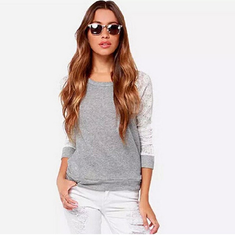 Wholesale china European style fashion long sleeve thin women wear latest design sexy <strong>t</strong> <strong>shirt</strong>