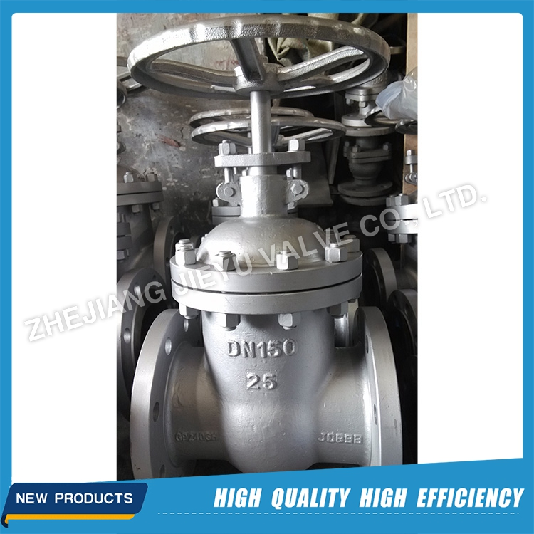 Z40H - DN150 PN25 High Temperature non rising stem gate valve with caron steel