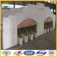 Glass table furnace azs manufacturers electro fused refractory