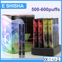 good manufacturer 500-600 puffs electric hookah narghile shisha with lowest prices