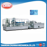 Pharmaceutical non-pvc soft bag iv solution filling machine production line / saline solution equipment