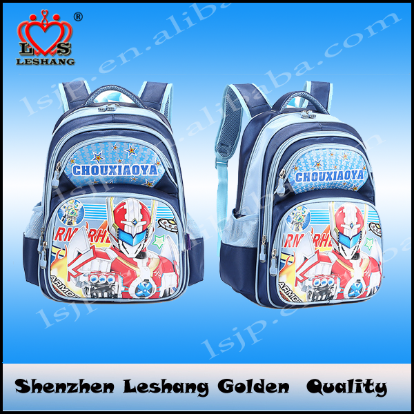 Children cartoon school backpack bag primary grades 2-4 in stock factory directly, images of school bag and backpack