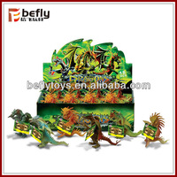 2015 new product small plastic toy dragons