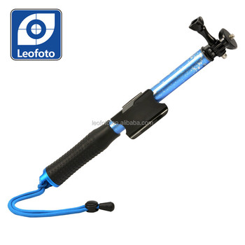 Extendable Handheld Monopod selfie stick for compact camera, and cellphone Leofoto QP- 004B