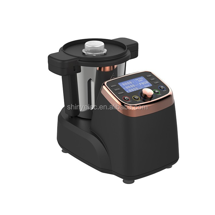 Multi function food blender and thermo mixer with LCD display