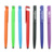 T0023 Low MOQ 4 in 1 multi-fuctional plastic ball pen with phone stand clip and touch end
