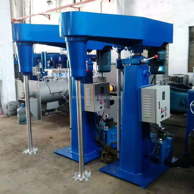 High Speed Disperser mixer for cosmetics and chemicals 7.5kw 11kw 15kw 18kw