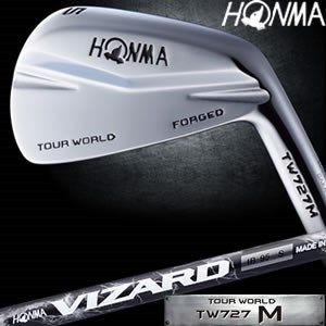Honma TOUR WORLD TW727 M Iron Single item (#3, #4) VIZARD IB105 Graphite carbon shaft carbon shaft golf clubs irons