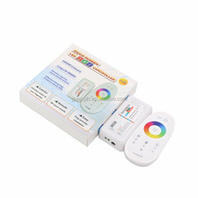 Touch RGB led controller for 12-24V led strip light 2.4G RF remote control
