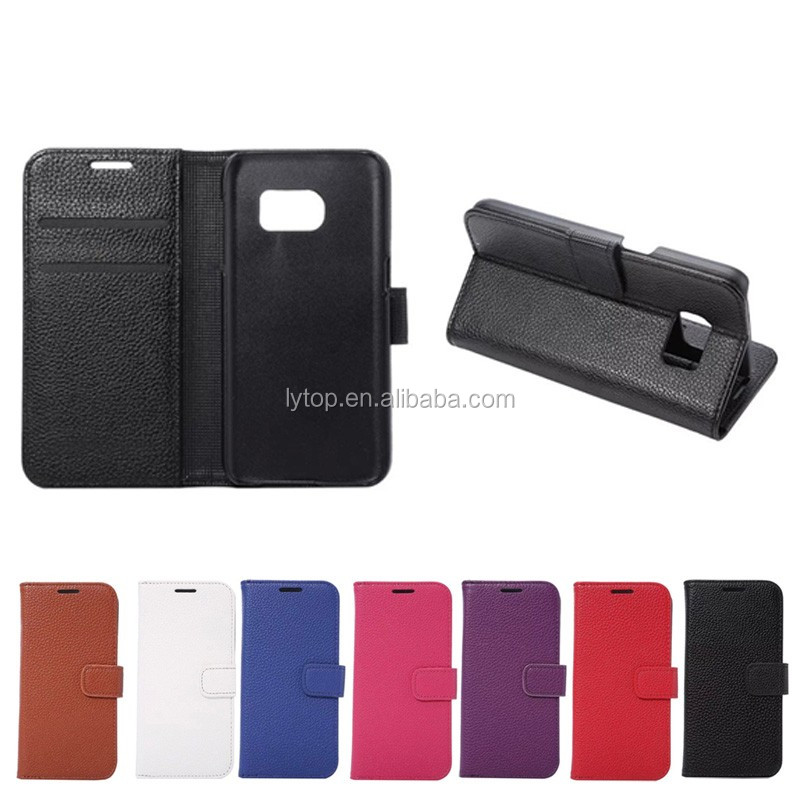 Litchi Leather Wallet Style Case For Samsung S7 Mobile Phone Case,Case For Samsung S7 New Brand