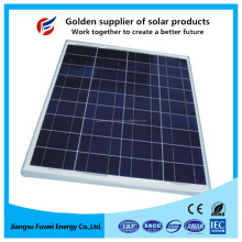 Factory direct high efficiency poly solar panel 195W for off grid installation