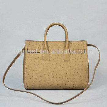 luxury ostrich tote bag taupe colors ostrich purse exotic handbag luxury