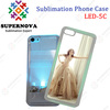 Hot Sublimation Cell Phone Case for iPhone 5C with Flashing LED Light