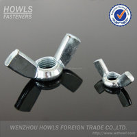 High quality carbon steel wing lock nut lock wing nut