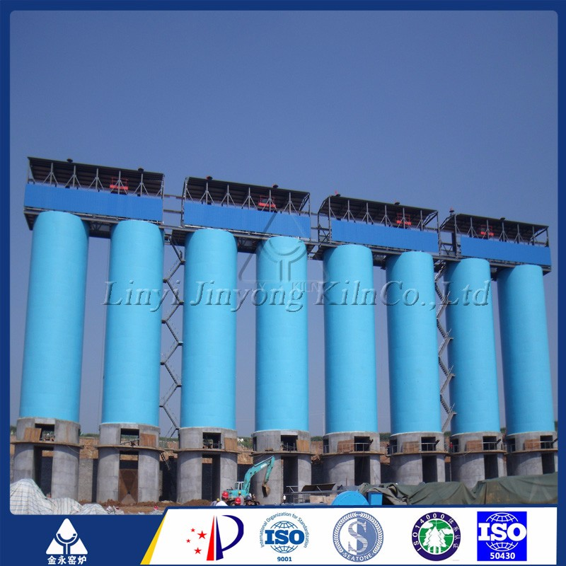 New Bituminous coal fired vertical lime kiln China supplier