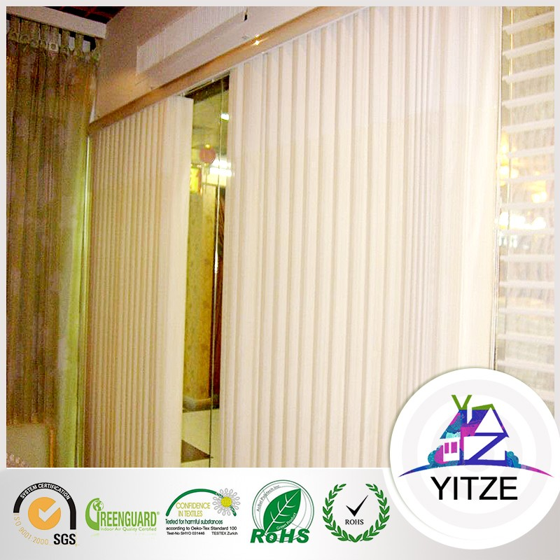 Home Textile Wholesale Vertical Stripe Sheer Window Curtain Blinds