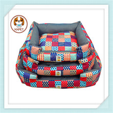 Pet bed factory selling water proof oxford fabric pet beds, dog cat bed house bedding