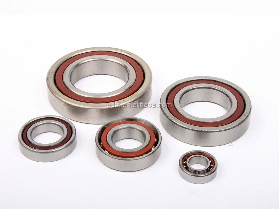 7004 size 20*42*12 mm stainless steel Fishing gear 15 double row angle Angular contact ball bearing 7004 C Duplex DB/DF/DT