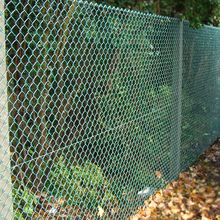 multipurpose green chain link fence