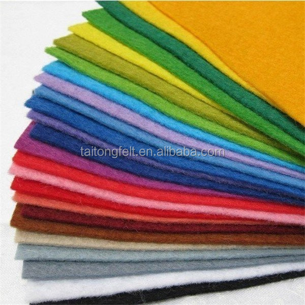 Coloful 100% german wool felt
